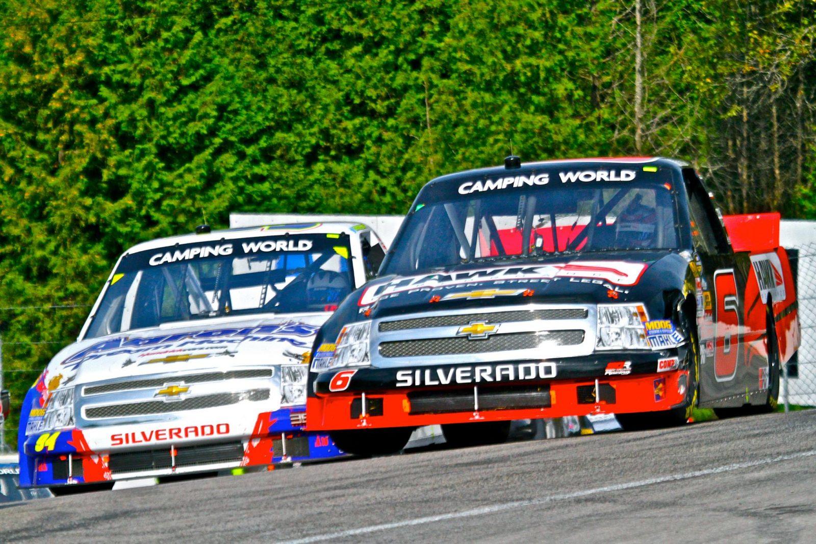 Skeen Debuts in NASCAR Camping World Truck Series