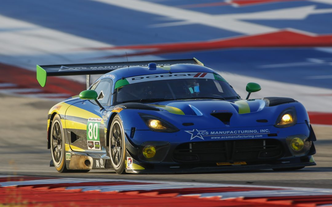 LSR Scores Season-Best Finish at COTA