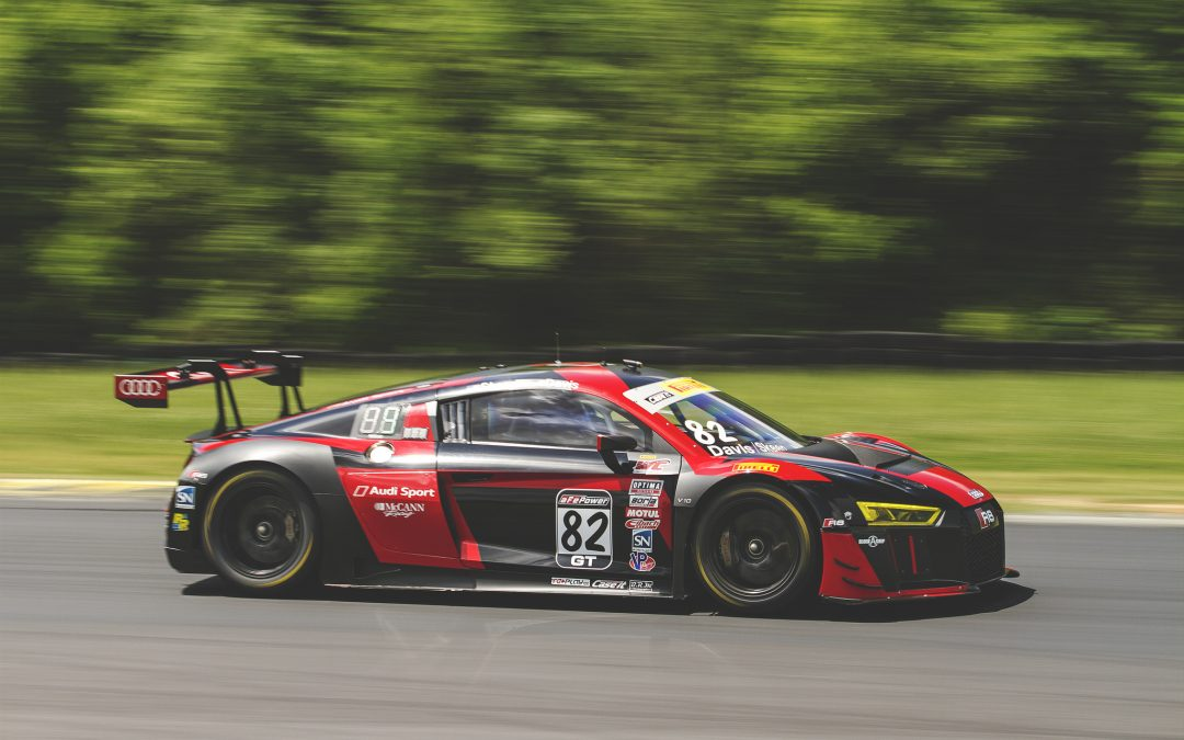 Skeen Takes Audi To PWC Pole At VIR