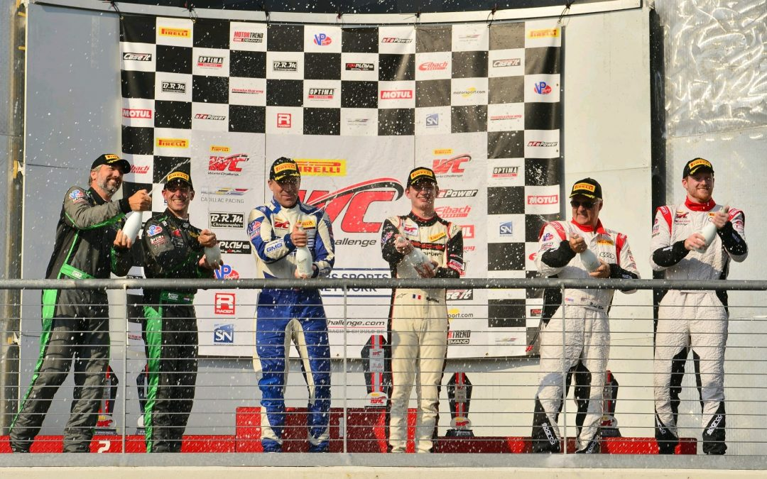 McCann Racing Podium At COTA