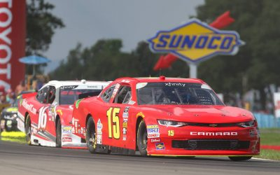 Skeen Leads NASCAR Xfinity Series Practice In Debut, Finishes Clean