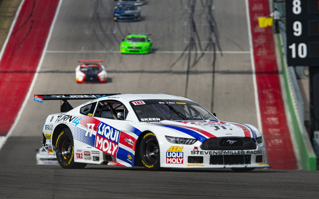Skeen Lands Another Podium At COTA