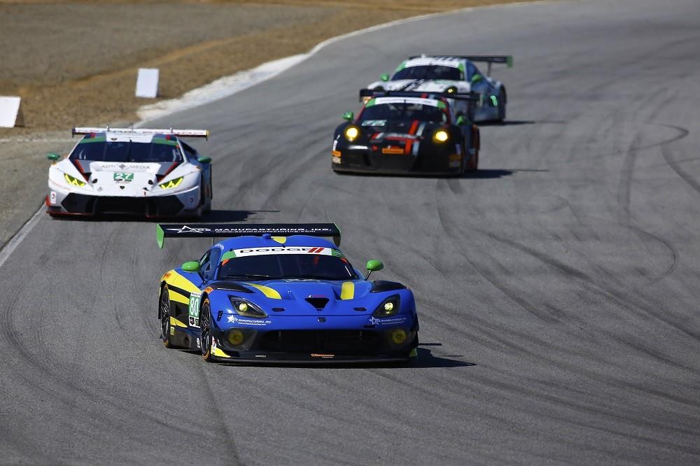 Laguna Seca Race Report