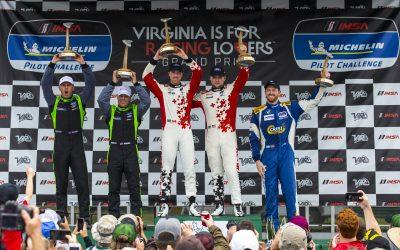 BimmerWorld Racing Captures Podium Finish at VIR in Unpredictable Race